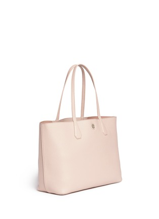 Front View - Click To Enlarge - Tory Burch - 'Perry' grainy leather tote