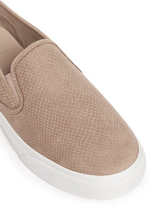 Detail View - Click To Enlarge - Tory Burch - 'Lennon' cobra effect leather skate slip-ons