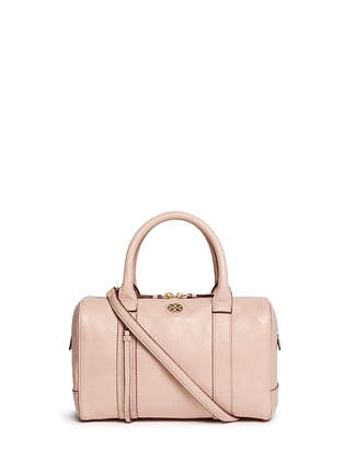 Main View - Click To Enlarge - Tory Burch - 'Brodie' small leather satchel