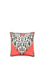 Desert Dreams print silk cushion