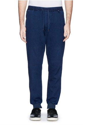 Main View - Click To Enlarge - COVERT - Garment dye cotton chino jogging pants