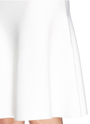 Detail View - Click To Enlarge - ST. JOHN - Milano knit flounce skirt