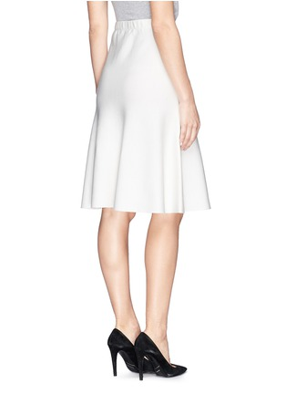 Back View - Click To Enlarge - ST. JOHN - Milano knit flounce skirt