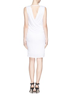 HELMUT LANG Low back drape jersey dress