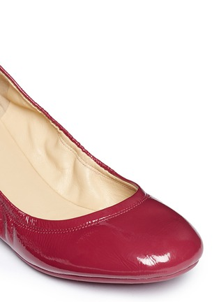 Detail View - Click To Enlarge - Cole Haan - 'Manhattan' patent leather ballerina flats