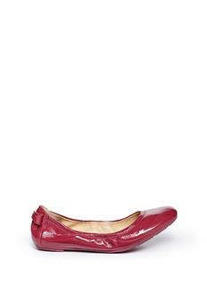 COLE HAANManhattan patent leather ballerina flats