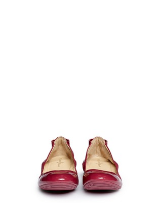 Figure View - Click To Enlarge - Cole Haan - 'Manhattan' patent leather ballerina flats