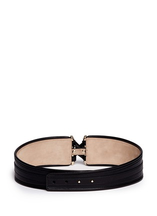 Back View - Click To Enlarge - Givenchy - Obsedia leather belt