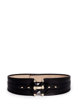 Main View - Click To Enlarge - Givenchy - Obsedia leather belt