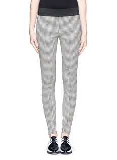 STELLA MCCARTNEY Houndstooth stretch pants