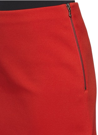 Detail View - Click To Enlarge - Lanvin - Neoprene pencil skirt