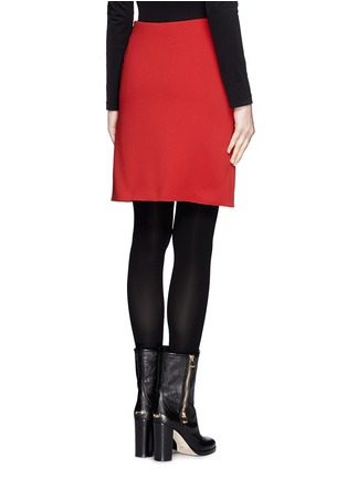 Back View - Click To Enlarge - Lanvin - Neoprene pencil skirt