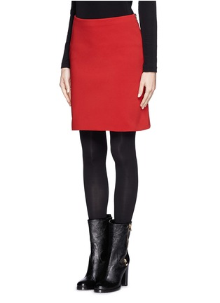 Front View - Click To Enlarge - Lanvin - Neoprene pencil skirt