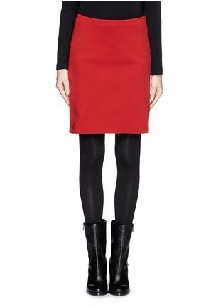 Main View - Click To Enlarge - Lanvin - Neoprene pencil skirt