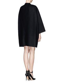 VALENTINOOpen front wool drape coat