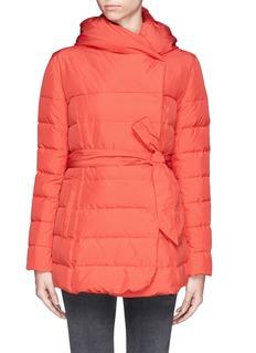 ARMANI COLLEZIONIShawl collar down jacket