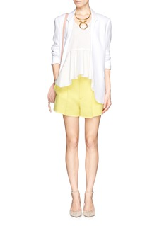 CHLOÉ Iconic cady tailored shorts