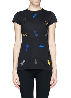 STELLA MCCARTNEYGraphic embellished T-shirt