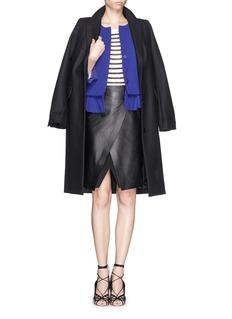 ARMANI COLLEZIONIStructured peplum jacket
