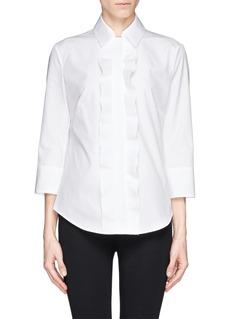 JIL SANDERRuffle shirt