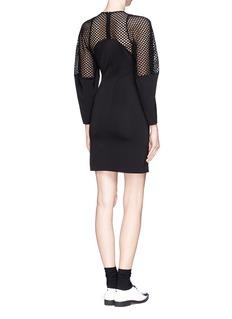 STELLA MCCARTNEYWicker lace trim sheath dress