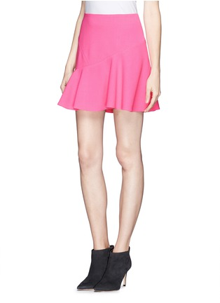 Front View - Click To Enlarge - Emilio Pucci - Asymmetric flounce skirt