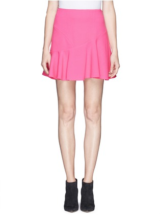 Main View - Click To Enlarge - Emilio Pucci - Asymmetric flounce skirt