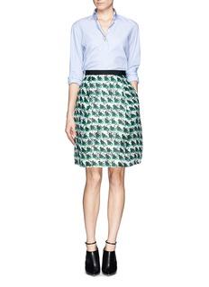 TANYA TAYLOR'Ella' silk organdy print skirt