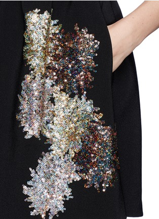 Detail View - Click To Enlarge - NO.21 - Sequin firework crepe skirt