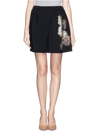 Main View - Click To Enlarge - NO.21 - Sequin firework crepe skirt