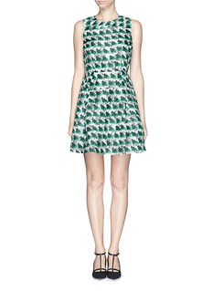 TANYA TAYLOR'Hannah' silk organdy print dress