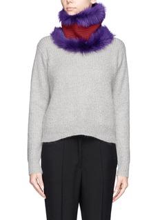PETER PILOTTOLambskin fur collar
