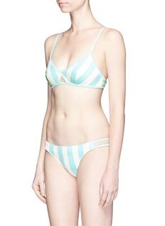 Solid & Striped'Thea' stripe bikini top