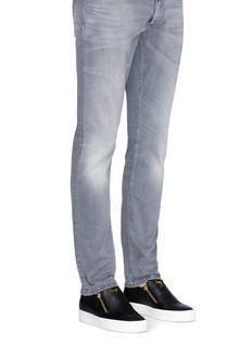 Giuseppe Zanotti Design'Adam' leather skate slip-ons