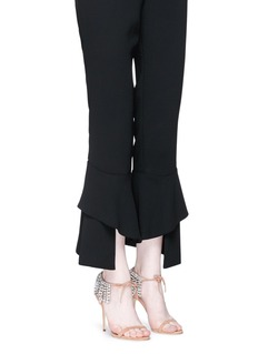 Giuseppe Zanotti Design'Carrie Crystal' fringe suede sandals