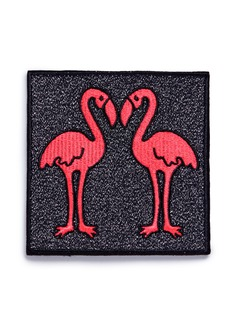 Marc Jacobs Flamingo embroidered patch
