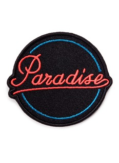 Marc Jacobs'Paradise' embroidered patch