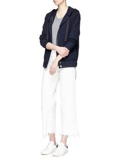 AG'Latri' zip hoodie