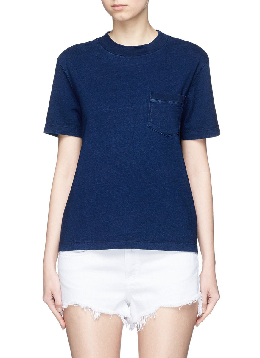 Cinque patch pocket T-shirt by AG