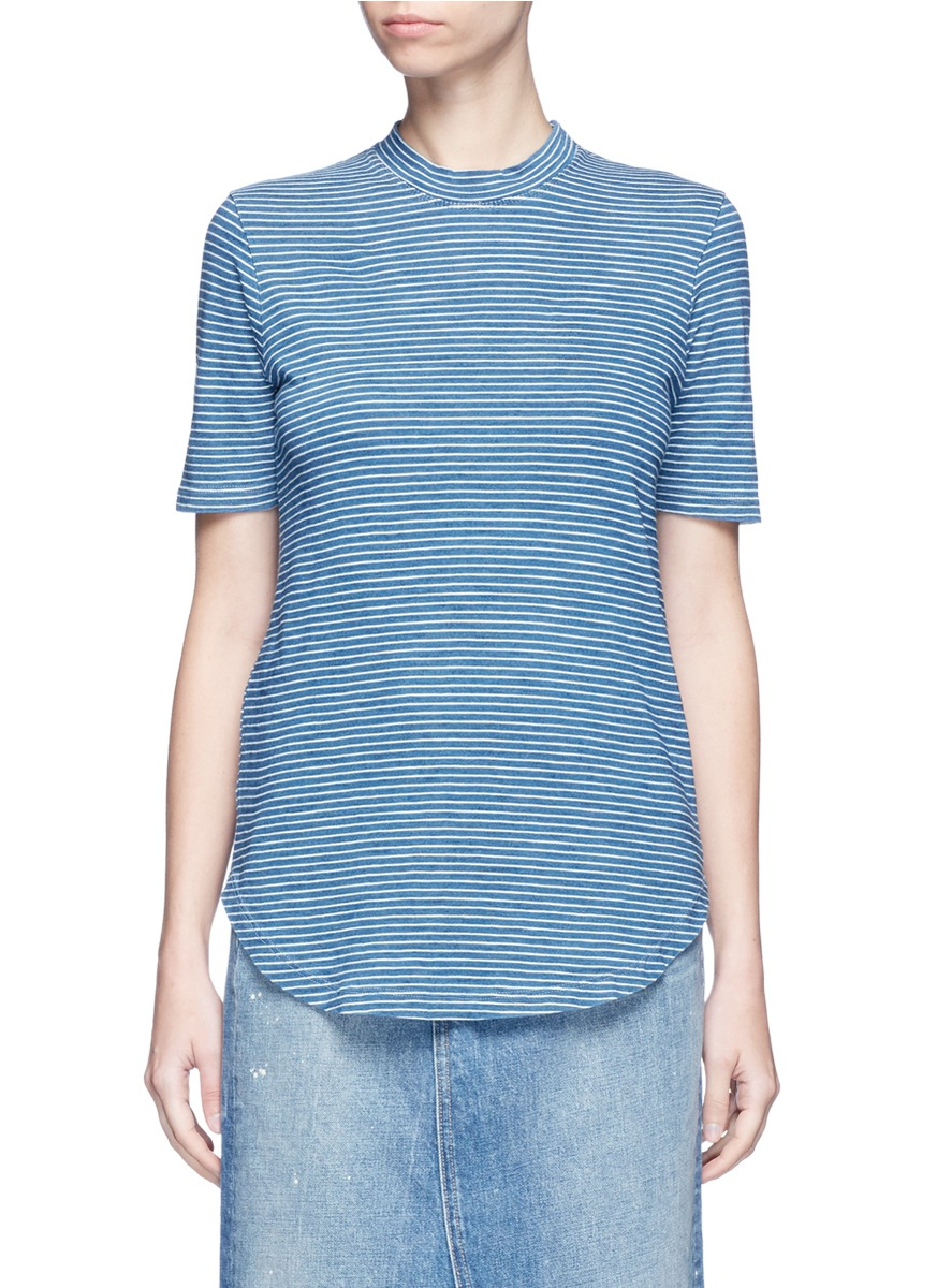 Cone stripe T-shirt by AG