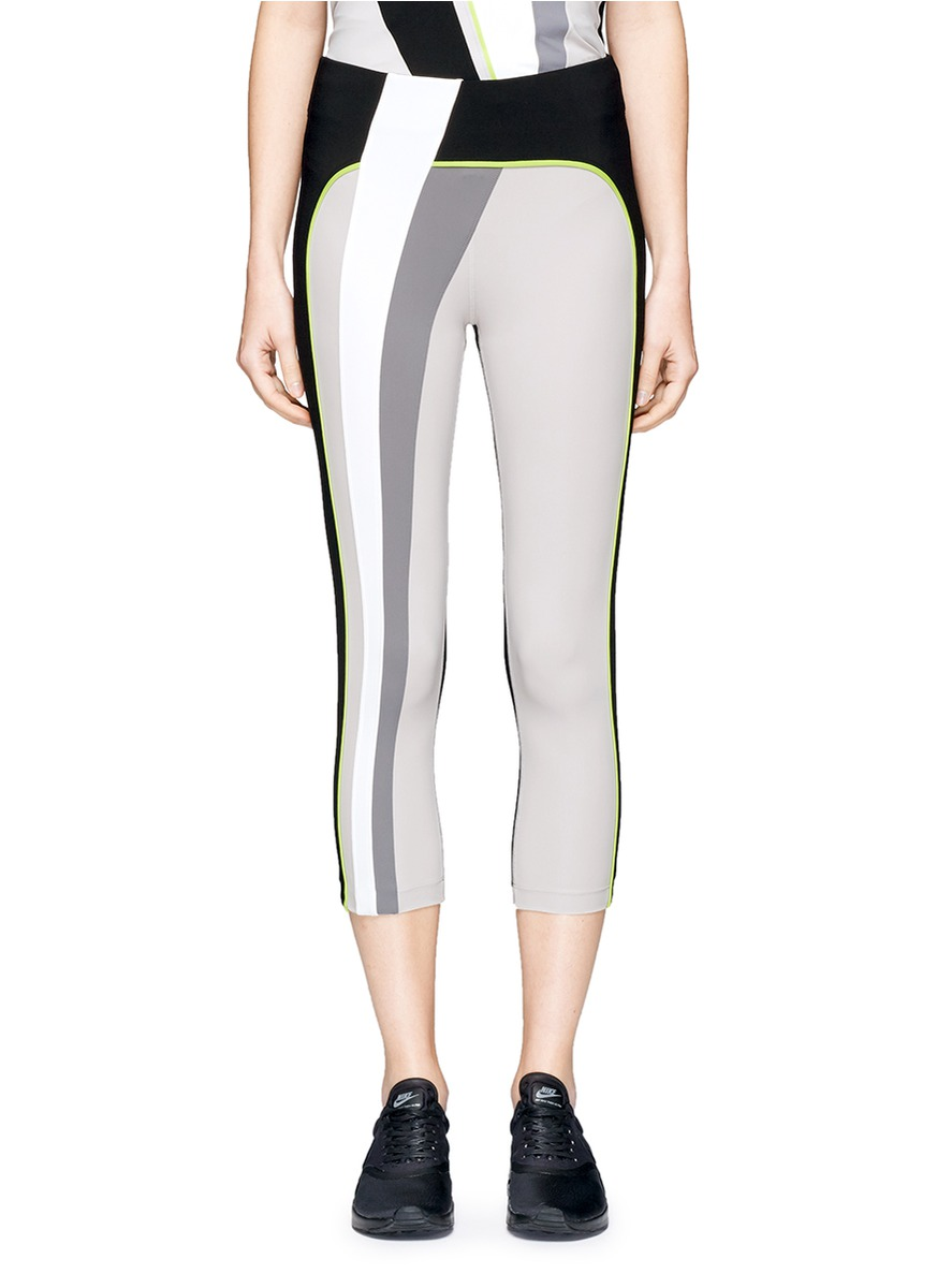 Kina performance capri leggings by No Ka'Oi