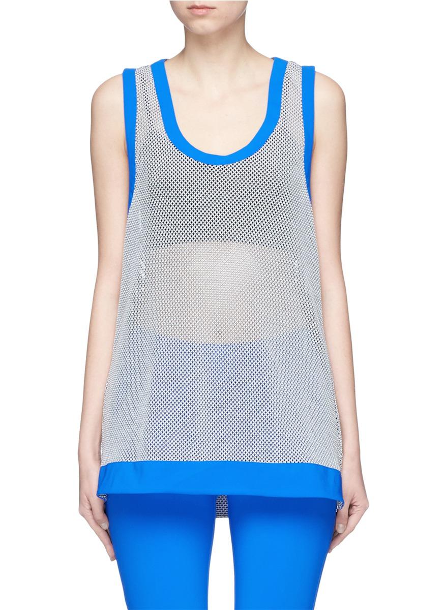 Mea 3D mesh knit racerback performance tank top by No Ka'Oi