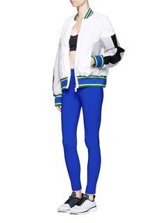 No Ka'Oi'U'I' colourblock performance bomber jacket