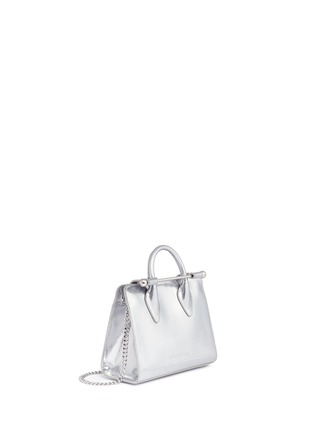 Detail View - Click To Enlarge - Strathberry - The Strathberry Nano' mirror patent leather tote