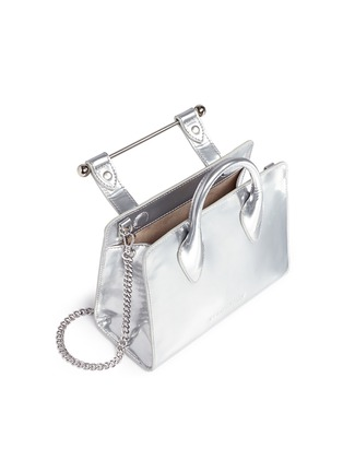 - Strathberry - The Strathberry Nano' mirror patent leather tote