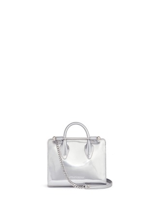 Main View - Click To Enlarge - Strathberry - The Strathberry Nano' mirror patent leather tote