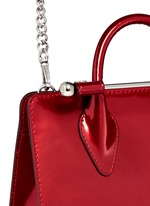 The Strathberry Nano' mirror patent leather tote