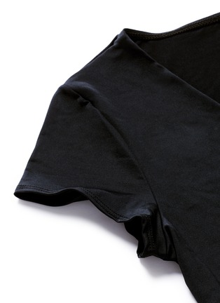 Detail View - Click To Enlarge - Vitamin A - 'Ballerina' wrap swim top
