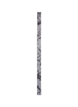 首图 - 点击放大 - LANVIN - 泼墨效果窄版羊毛领带