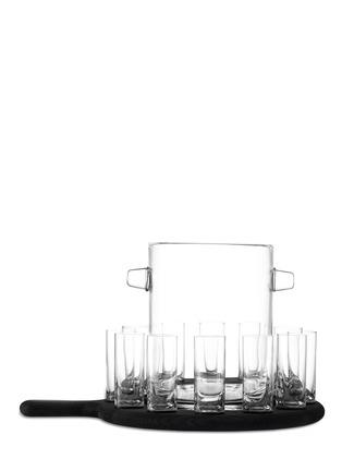 首图 –点击放大 - LSA - Paddle 伏特加酒杯及冰桶连橡木托盘套装